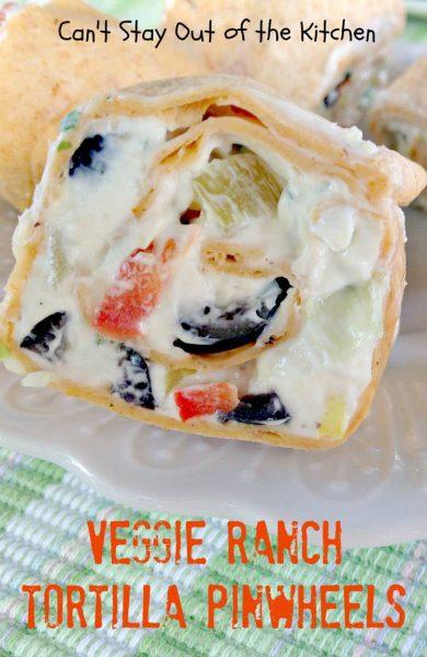 Veggie Ranch Tortilla Pinwheels - IMG_2538