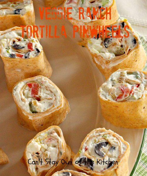 Veggie Ranch Tortilla Pinwheels - IMG_7973