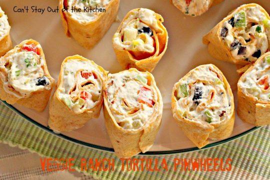 Veggie Ranch Tortilla Pinwheels - IMG_7983