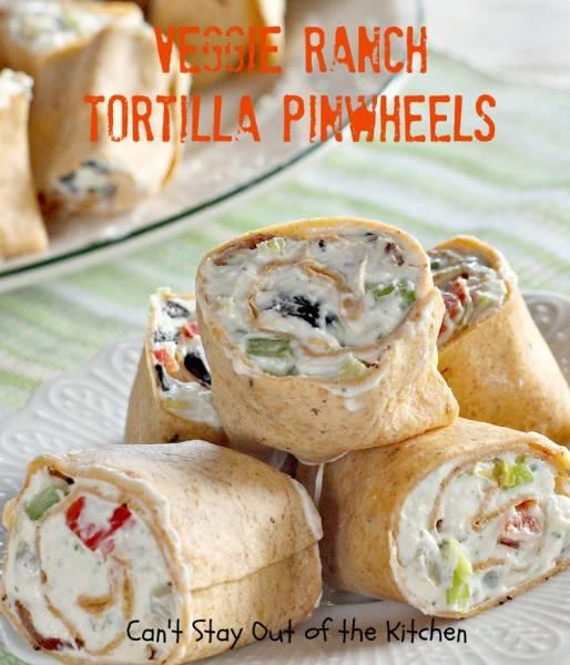 Veggie Ranch Tortilla Pinwheels - IMG_7989