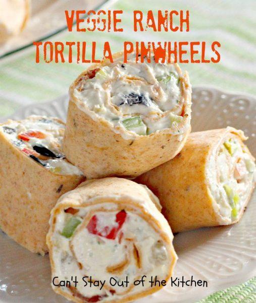 Veggie Ranch Tortilla Pinwheels - IMG_7990