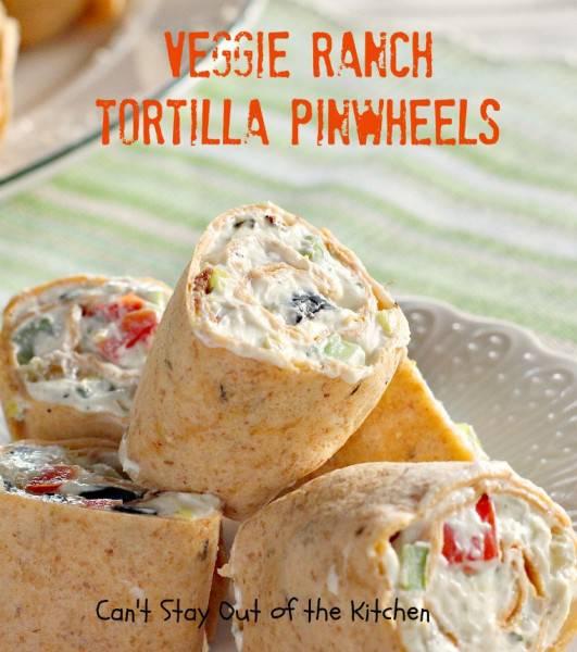 Veggie Ranch Tortilla Pinwheels - IMG_7991