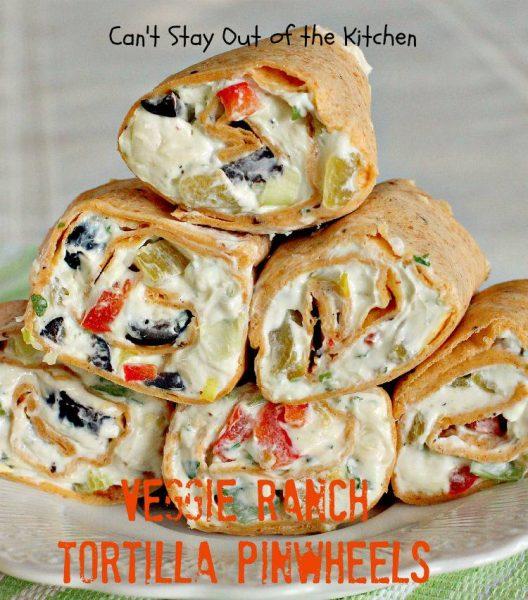 Veggie Ranch Tortilla Pinwheels - IMG_8005