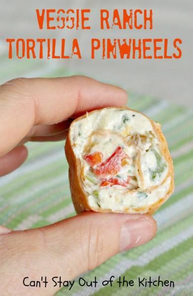 Veggie Ranch Tortilla Pinwheels - IMG_8017