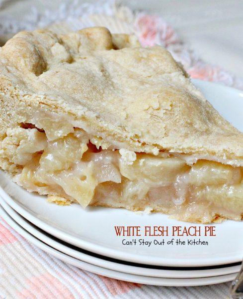 White Flesh Peach Pie - IMG_3798