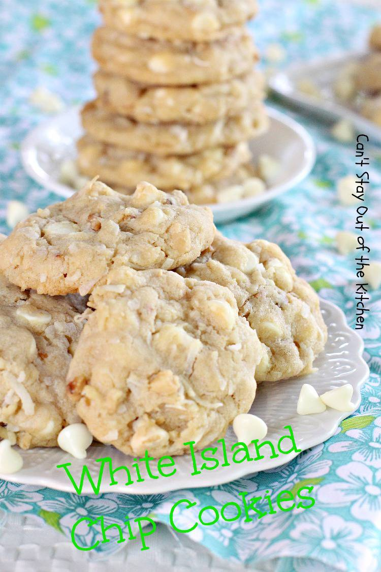 Nestle white chip island cookie recipe