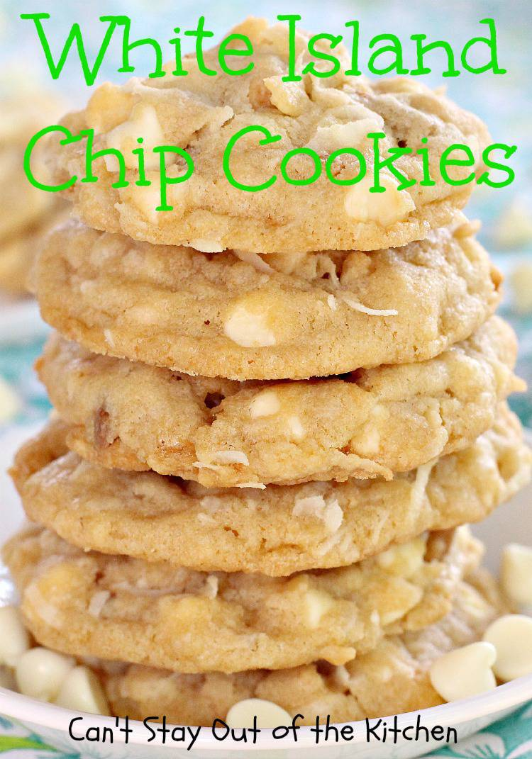 White Island Chip Cookies