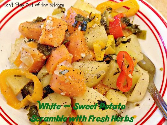 White and Sweet Potato Scramble with Fresh Herbs - Recipe Pix 22 549.jpg