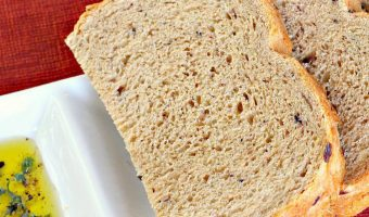 Whole Wheat Greek Bread