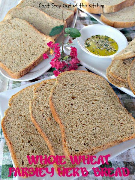 Whole Wheat Parsley Herb Bread - IMG_4112.jpg