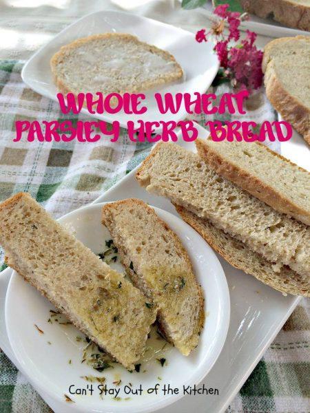 Whole Wheat Parsley Herb Bread - IMG_4136.jpg