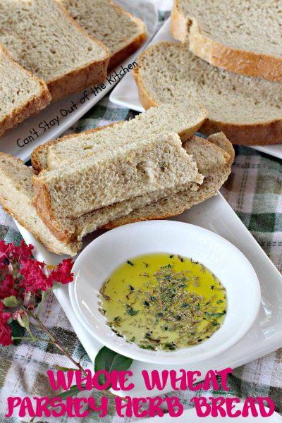 Whole Wheat Parsley Herb Bread - IMG_8831.jpg
