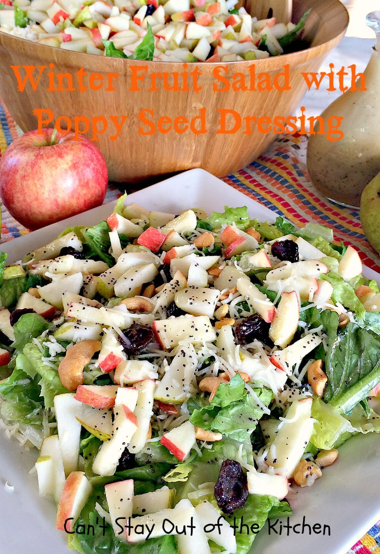 Pear Pomegranate And Berry Salad Can T Stay Out Of The