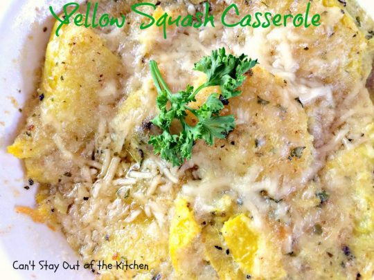 Yellow Squash Casserole - IMG_0698