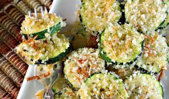 Zucchini Parmesan Crisps