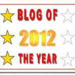 Blog of the Year Award 2012 – 3rd Star